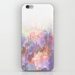 Frozen Magical Nature - Peach and Ultra-Violet iPhone Skin