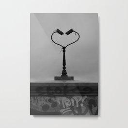 CCTV Love Metal Print