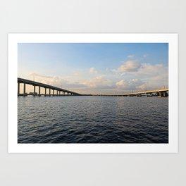 The Edison Bridge Art Print