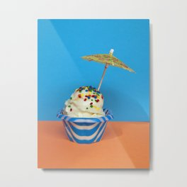 Scream For Ice Cream Metal Print