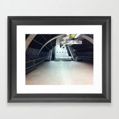 Where'd Everybody Go? Framed Art Print