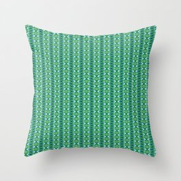 Glitch Pattern 2 Throw Pillow