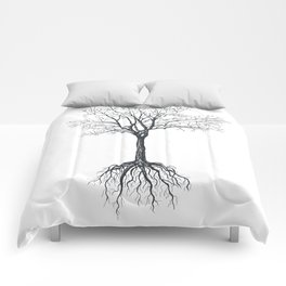 Tree without leaves Comforters