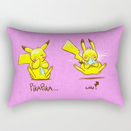 PikaPika Rectangular Pillow