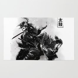 Taiko - Dance of the swords Rug