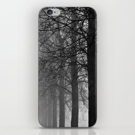 Mist Trees iPhone Skin