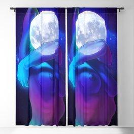 Moon Head Blackout Curtain