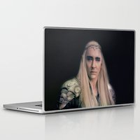 thranduil Laptop & iPad Skins featuring Thranduil II by LindaMarieAnson