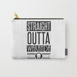 Black Panther Straight Outta Wakanda Carry-All Pouch
