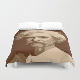 Mark Twain Duvet Cover
