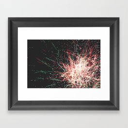 Exploder Framed Art Print