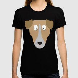 Cute Dog Face T-Shirt for Women, Men and Kids T-shirt