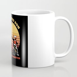 Father And Son Motorcycle Friends Forever Coffee Mug