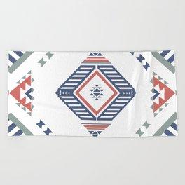 American Native Pattern No. 162 Beach Towel