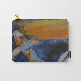 Sanshoku Koi Carry-All Pouch