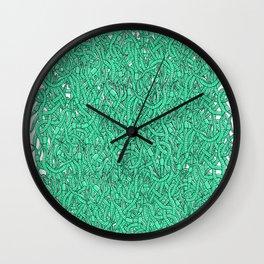 Wormies Wall Clock