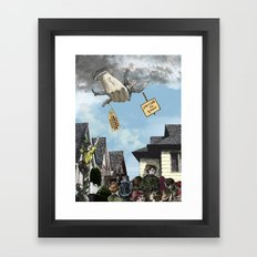 I HEAR AMERICA SCREAMING! Framed Art Print