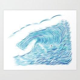 INFINITE ENDLESS TUBE Art Print