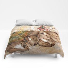 Knitted Hibernation  Comforters