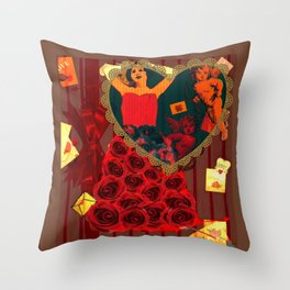 Love Letters Throw Pillow