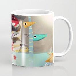Light and Transparency illustration The Moon Coffee Mug
