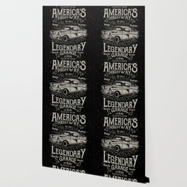 American Highway Star Wallpaper