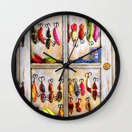 Plugs Aplenty Wall Clock