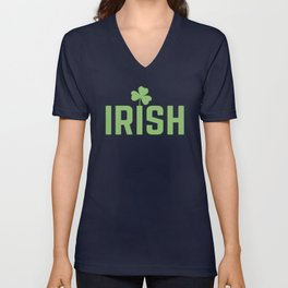 I'm Irish Unisex V-Neck