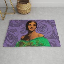 Maria Callas Stenciled II Rug