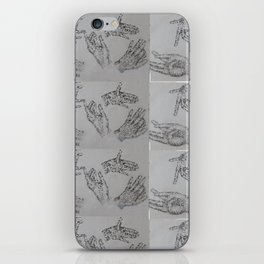 10000 Hands iPhone Skin