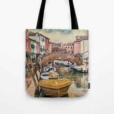 Colors of Burano Tote Bag