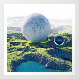 Furry Composition Art Print