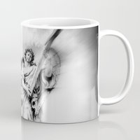 angels Mugs featuring Angels by haroulita