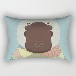Whimsical Platypus II Rectangular Pillow