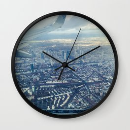 Airplane Ride Wall Clock