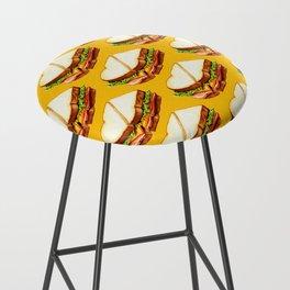 Ham Sandwich Pattern Bar Stool