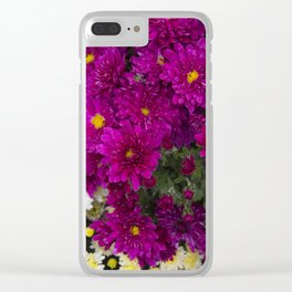flowers, flowers, flowers. Clear iPhone Case