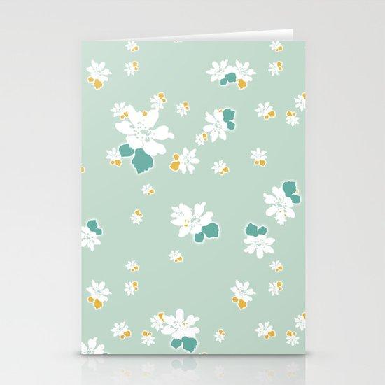 Ditsy - Eggshell Stationery Cards