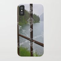 compass iPhone & iPod Cases featuring Compass by Claire Lester