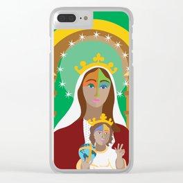 Virgen de Coromoto. Coromoto Virgin Clear iPhone Case