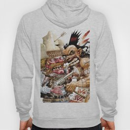 cowboy and native american Hoody