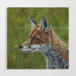 Fox Wood Wall Art