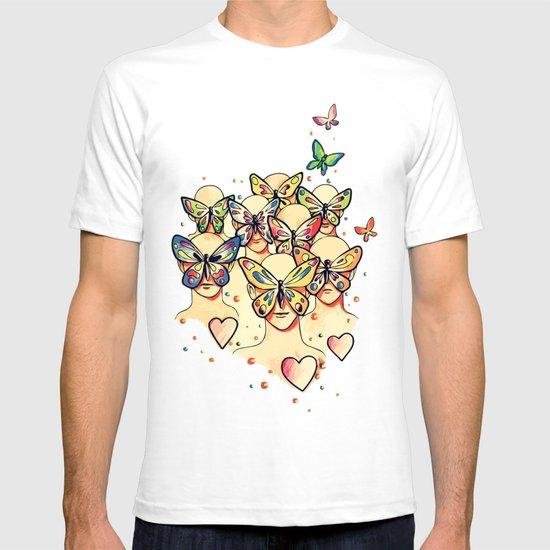 Butterfly Caught T-shirt