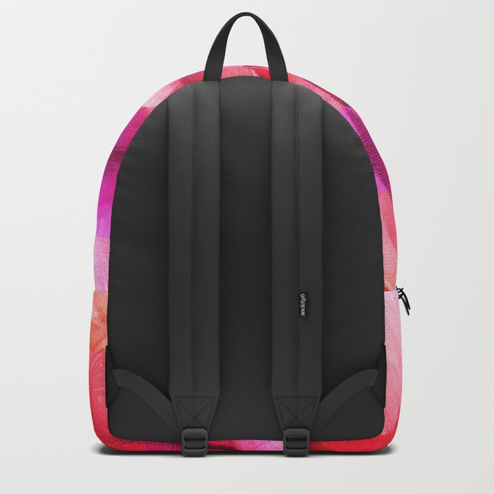 Retouched rose painting Backpack