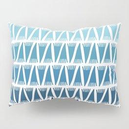 Tee Pee Blue Gradient Pillow Sham