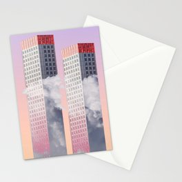 Twin towers New York Stationery Cards