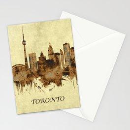 Toronto Canada Cityscape Stationery Cards