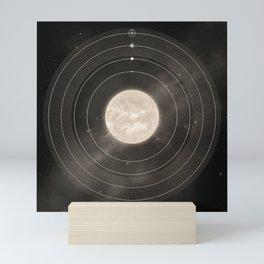 Habitable Zone - Black Mini Art Print
