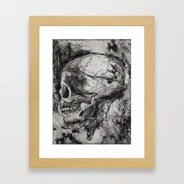 Tangled Thoughts Framed Art Print