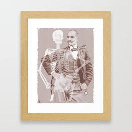 Crown Pursuit Framed Art Print